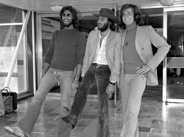Bee Gees embarking on a world tour