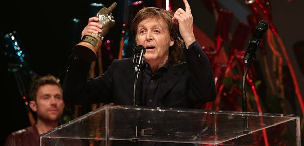 Paul McCartney at NME Awards