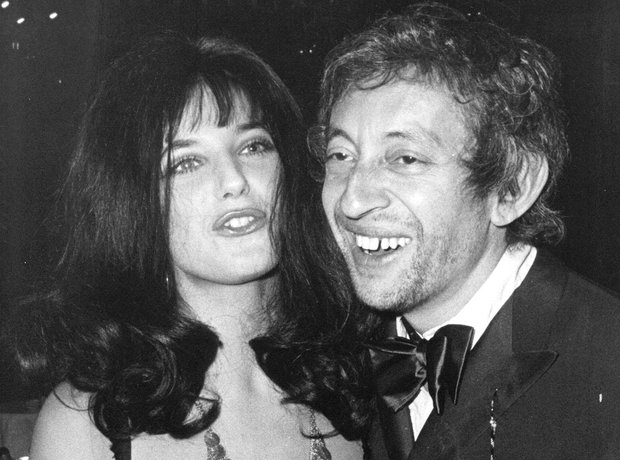 Jane Birkin and Serge Gainsbourg in the 1960s