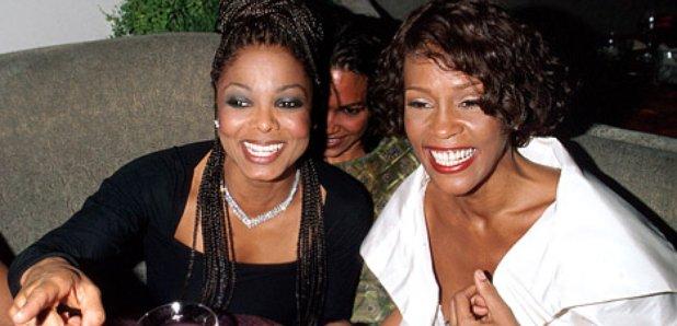 Janet Jackson and Whitney Houston