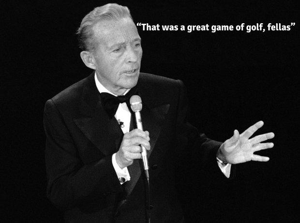 Bing Crosby last words