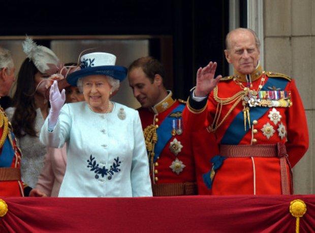 The Queen and Duke of Edinburgh