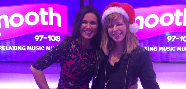 Susanna Reid with Kate Garraway