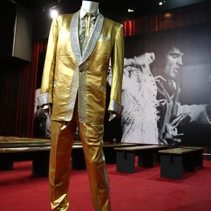 Elvis Presley's Gold Suit