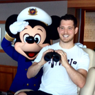Michael Buble and Micky Mouse