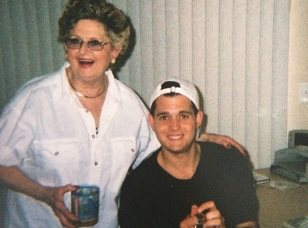 Michael Buble grandma