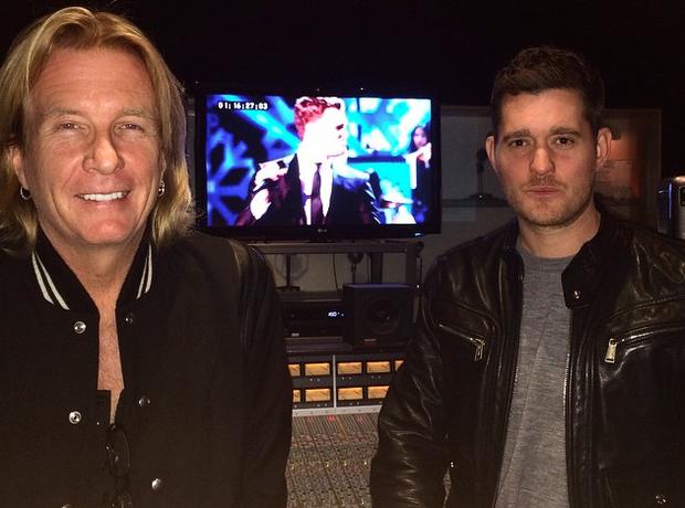 Michael Buble recording studio