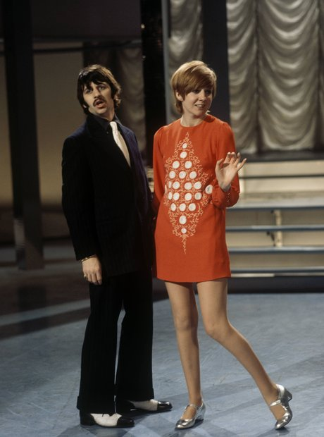 Cilla Black and Ringo Star