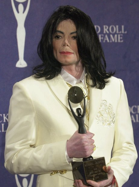 Michael Jackson Rock and Roll Hall of Fame 2001