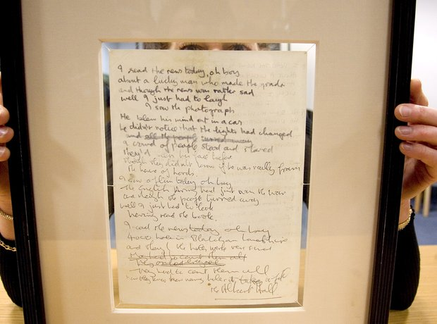 A Day In The Life lyrics