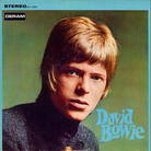 david bowie debut album covers
