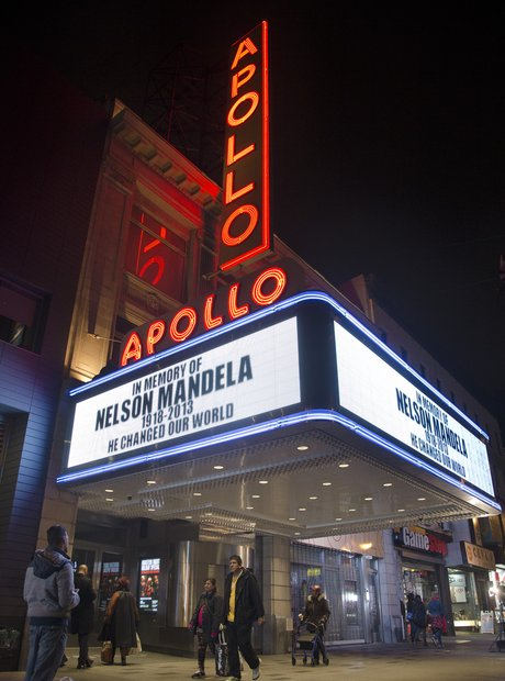 The Apollo theatre, Harlem