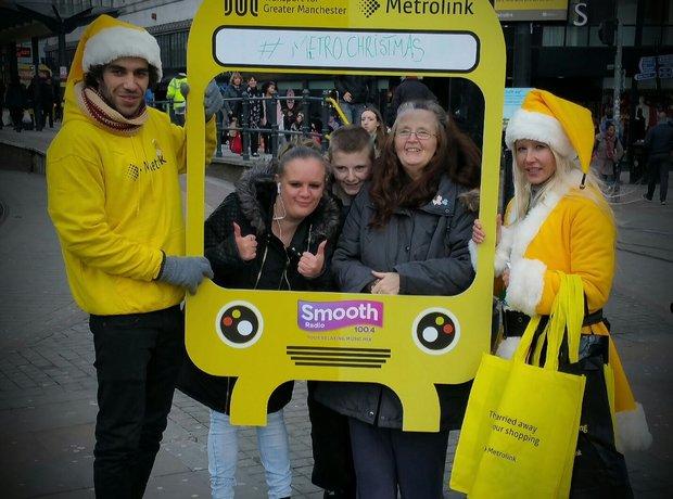 Transport For Greater Manchester Elfie Selfies