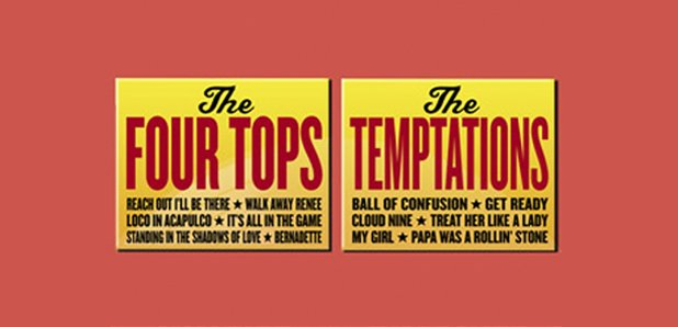 Four Tops Temptations 2016 Tour