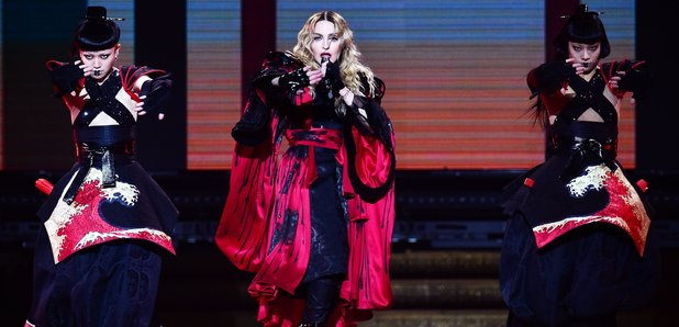 Madonna O2 Rebel Heart Tour
