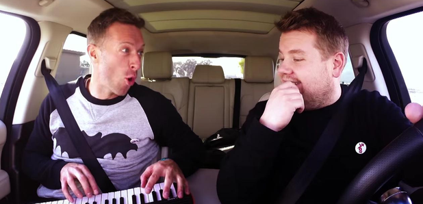 chris martin james corden