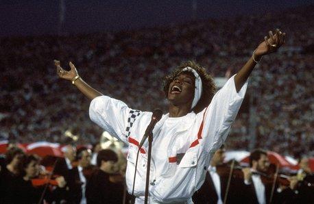 Whitney Houston Super Bowl 1991