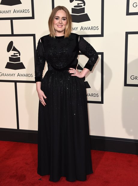 Adele at the Grammy Awards 2016