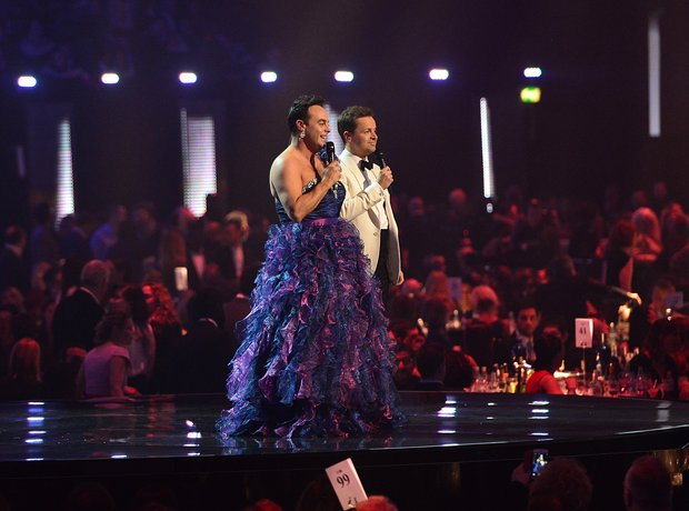 Ant and Dec Dress The Brits 2016