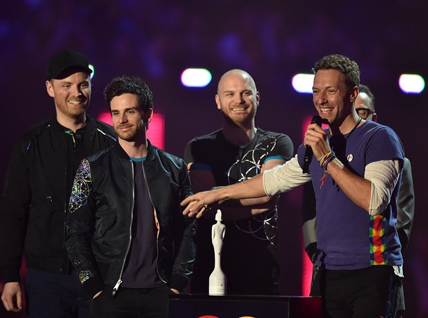 Coldplay BRIT Awards 2016
