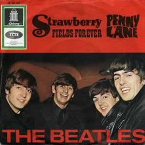The Beatles Strawberry Fields Forever Single
