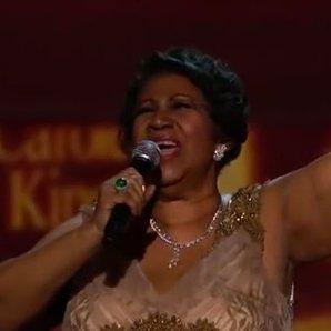Aretha Franklin Honours Carole King