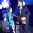 Paul McCartney on stage Argentina
