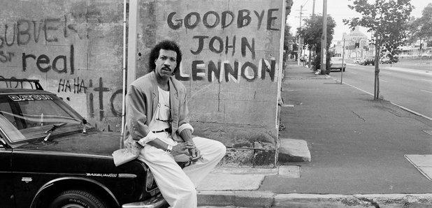 Lionel Richie Lennon graffiti