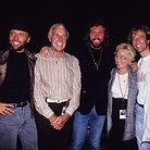 The Bee Gees with mum Barbara Gibb