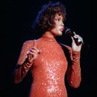 Whitney Houston in concert at Earl's Court, London