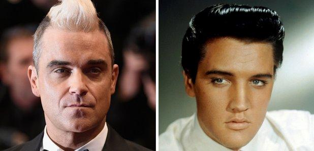 Elvis and Robbie Williams