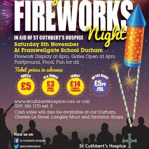 St Cuthbert's Fireworks