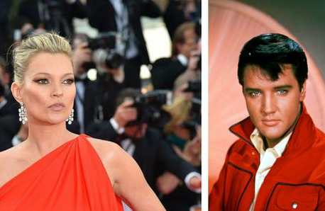 Kate Moss and Elvis