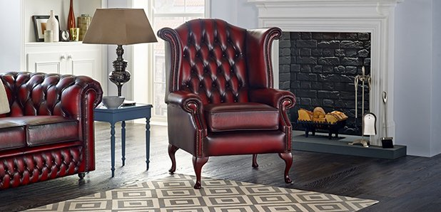 Saxon Scroll Chair