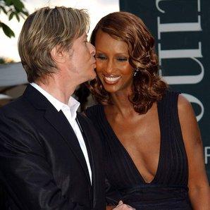 David Bowie wife Iman 2002