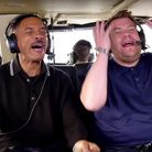 Will Smith and James Corden Carpool Karaoke Series