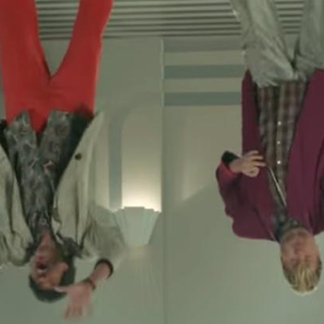 Lionel Richie James Corden Stuck on the ceiling