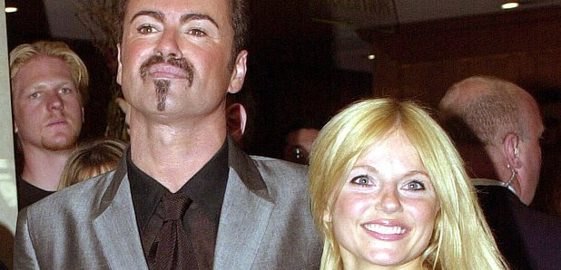 George Michael and Geri Halliwell